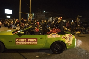 Mayor Chris Friel